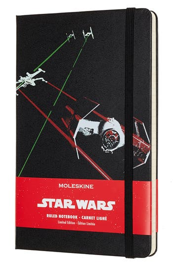 Moleskine Star Wars(TM) Limited Edition - Tie Fighter Notebook, Size One Size - Black