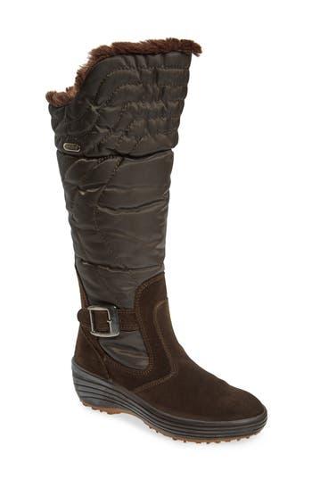 Pajar Natasha Faux Fur Lined Waterproof Boot, Brown