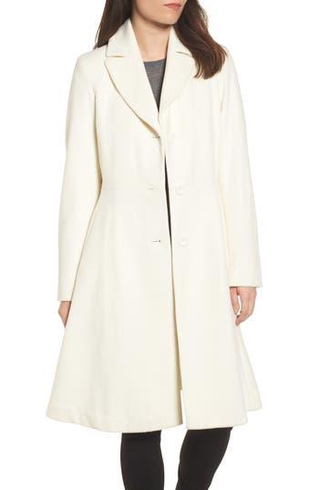 Women's Trina Trink Turk Skylar Lady Coat, Size 4 - White