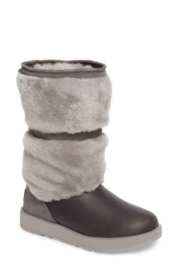Ugg Reykir Waterproof Snow Boot, Grey