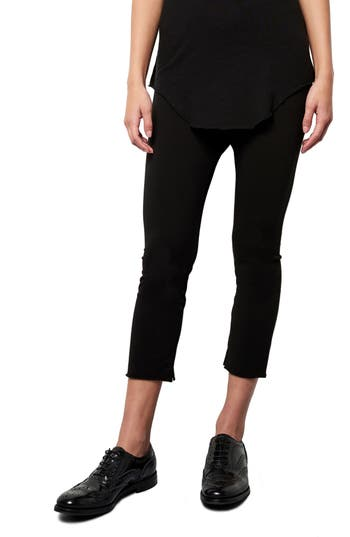 Frank & Eileen Tee Lab Crop Leggings, Black