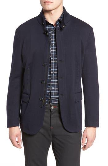 Men's Bugatchi Stand Collar Blazer