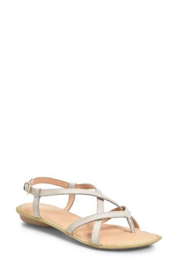 Women's B?rn Mai Strap Sandal, Size 6 M - Grey