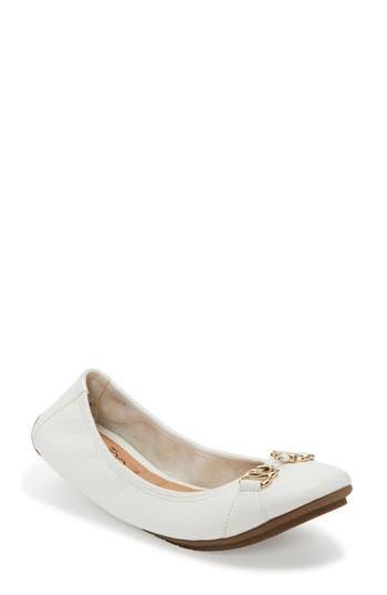 Me Too Olympia Skimmer Flat- White