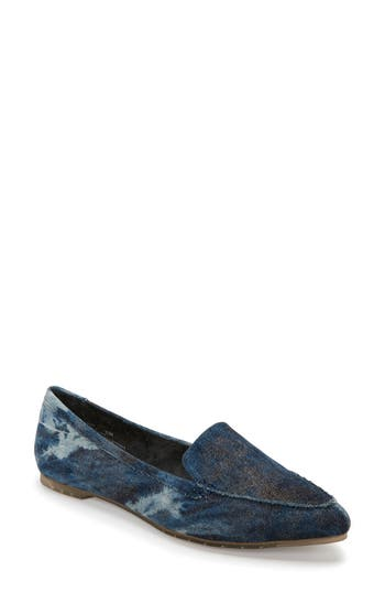 Me Too Audra Loafer Flat- Blue