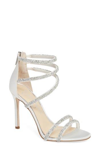 Jessica Simpson Jamalee Glitter Sandal- White