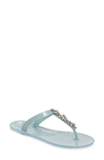 Women's Jewel Badgley Mischka Gracia Embellished Sandal, Size 9 M - White