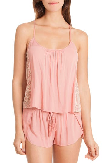 In Bloom By Jonquil Short Pajamas, Coral