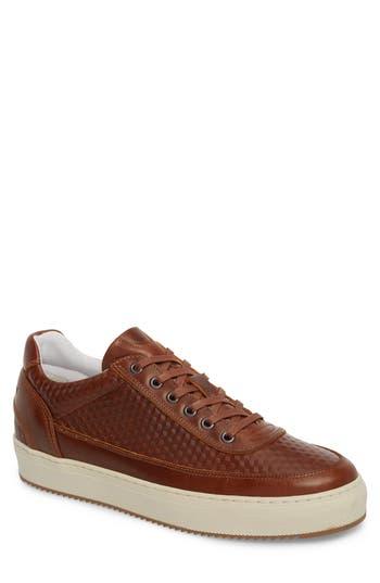 Cycleur De Luxe Montreal Textured Low Top Sneaker - Brown
