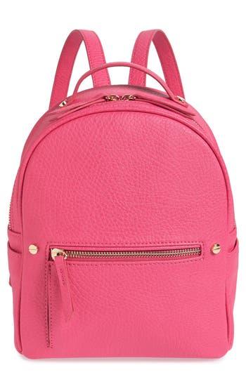 Mali + Lili Hannah Vegan Leather Backpack - Pink