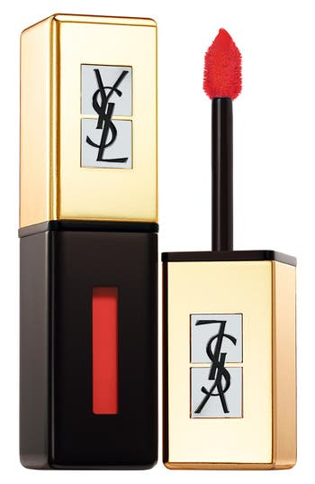 Yves Saint Laurent 'Pop Water - Vernis A Levres' Glossy Stain - 202 Rouge Splash