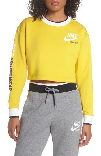 Nike Reversible Crop Sweatshirt
