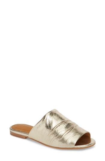 Cc Corso Como Beachaven Slide Sandal, Metallic