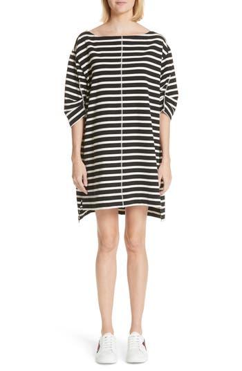 Marc Jacobs Stamped Stripe Dress, Black