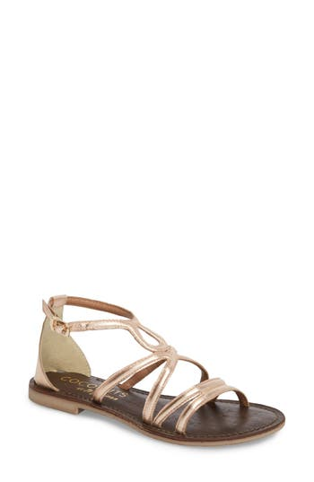 Coconuts By Matisse Palm Beach Metallic Sandal, Pink
