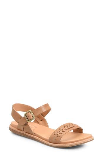 Kork-Ease Yucca Braid Sandal, Brown