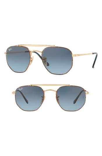 Ray-Ban 5m Gradient Sunglasses - Matte Blue Gradient