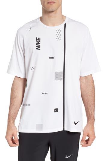 Nike Crewneck Mesh T-Shirt, White