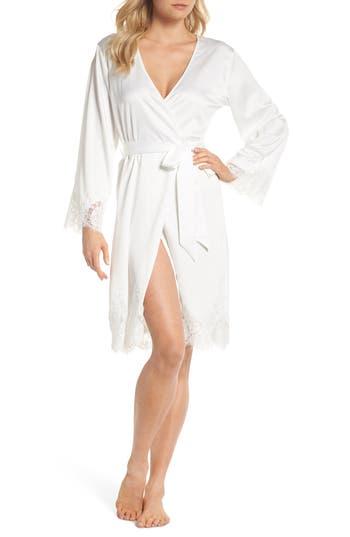 HOMEBODII Olivia Robe in White