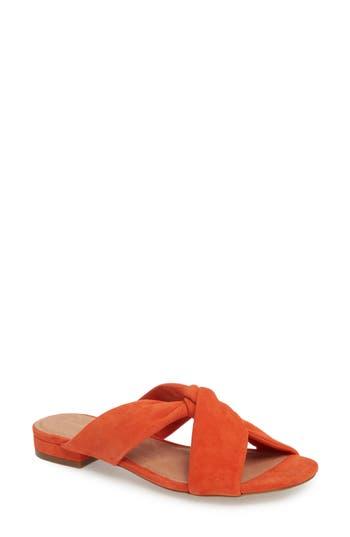Halogen Andre Slide Sandal, Orange