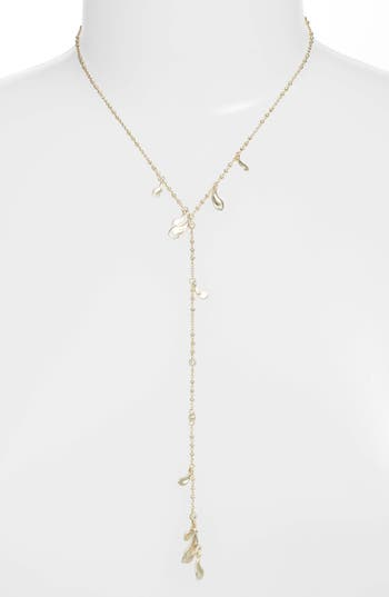 Quincy Necklace, Gold