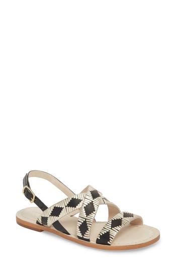 Women's Caslon Finn Sandal, Size 4.5 M - Black