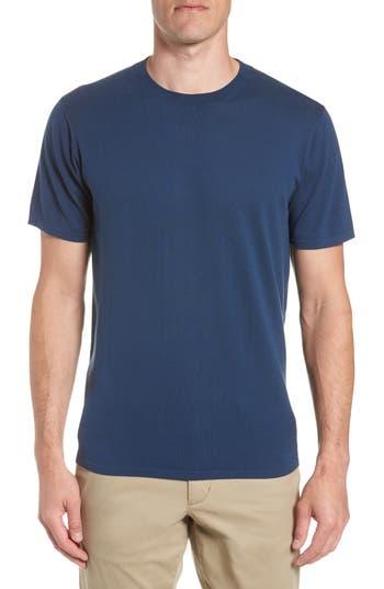 Bonobos Slim Fit Pima Cotton Sweater T-Shirt, Blue