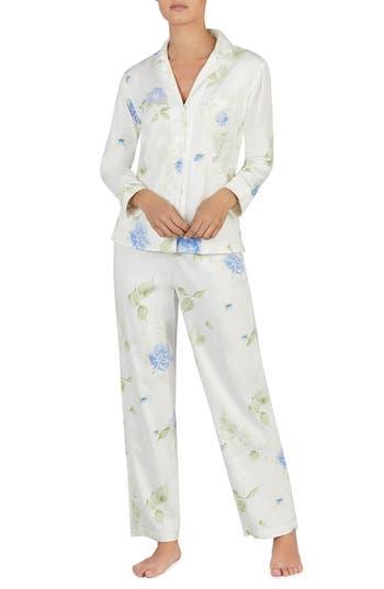 Lauren Ralph Lauren Floral Pajamas, Ivory