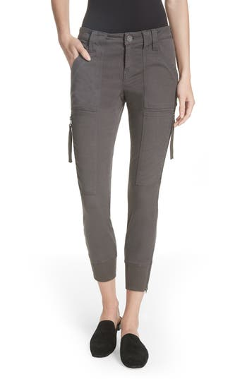 Joie Malbi Slim Stretch Cotton Blend Cargo Pants