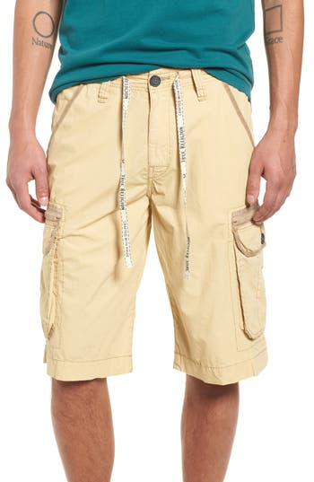 True Religion Brand Jeans Terrain Cargo Shorts, Grey