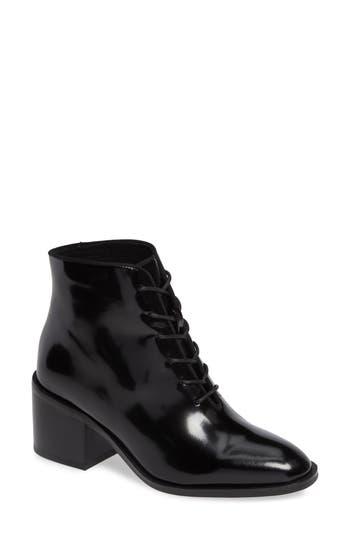 Jeffrey Campbell Talcott Block Heel Bootie- Black