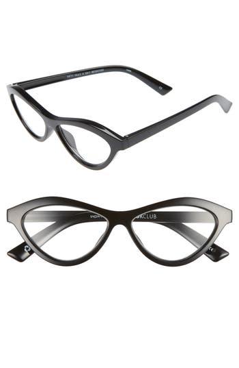 Unique Retro Vintage Style Sunglasses & Eyeglasses Womens The Bookclub Fifty Fails A Day 54Mm Reading Glasses - Black Marker $30.00 AT vintagedancer.com