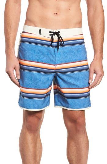 Hurley Phantom Serape Board Shorts, Blue