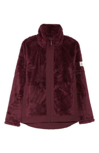 The North Face Furry Fleece Jacket, Purple