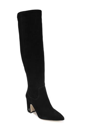 Sam Edelman Hai Knee High Boot, Black