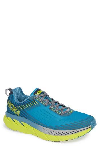 Hoka One One Clifton 5 Running Shoe, Blue
