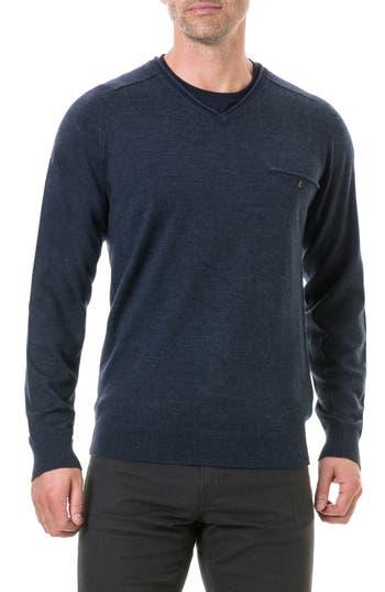 Rodd & Gunn Goose Bay Wool Sweater, Blue