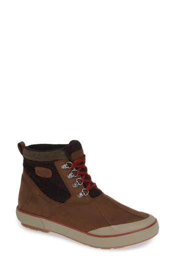 Keen Elsa Ii Waterproof Ankle Boot, Brown