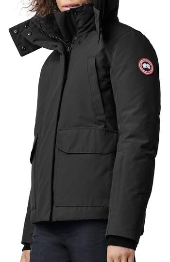 Canada Goose Blakely Water Resistant 625 Fill Power Down Parka, (0) - Black