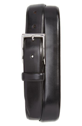 J.crew Leather Dress Belt, Black