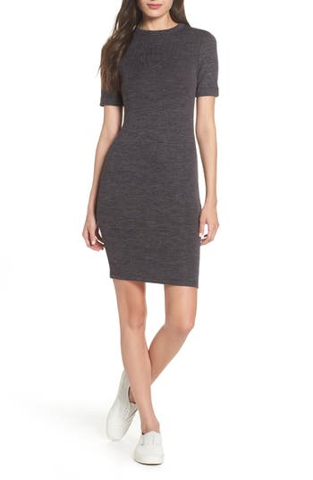 French Connection Sweeter Body-Con Dress, Grey