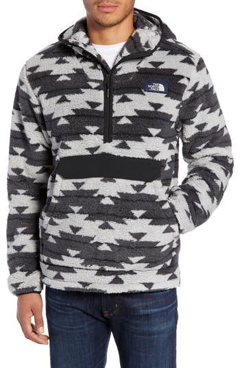 The North Face Campshire Anorak Fleece Jacket, Grey