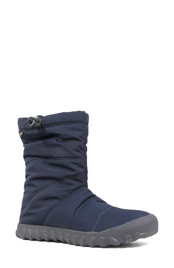 Bogs Puffy Insulated Waterproof Boot, Blue