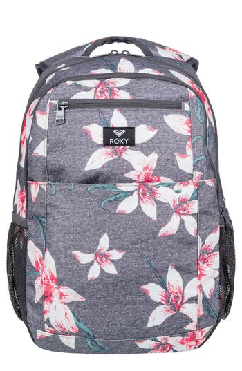 Roxy Here You Are Backpack - Grey