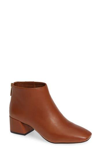 Hayden Bootie, Cognac Leather