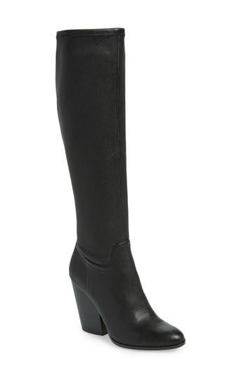 Linea Paolo Elena Knee High Boot, Black
