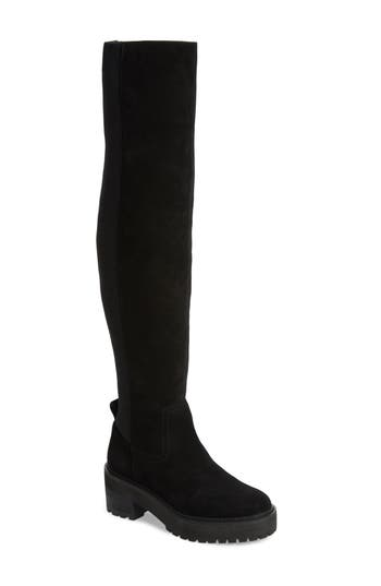 Linea Paolo Lindy Over The Knee Boot, Black
