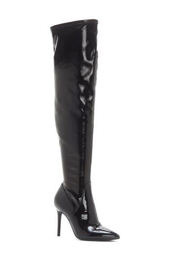 Jessica Simpson Laken Over The Knee Boot, Black