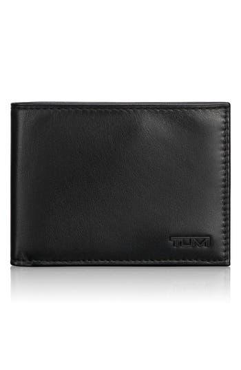 Men's Tumi 'Delta Global - Id Lock(TM)' Shielded Double Billfold Wallet - Black