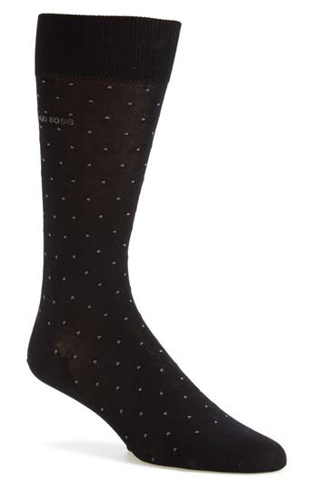 Men's Boss 'Frank' Dot Socks